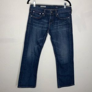 Adriano goldschmied tomboy crop denim AG jeans